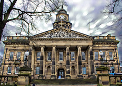 Lancaster City Town Hall (alsimages1 - Thank you for 860.000 PAGE VIEWS) Tags: white castle history church monument abbey st museum square boats university cross theatre roman albert mary grand victoria quay canals norman queen maritime lancaster georgian dalton witches barker morecambe georges johns pendle
