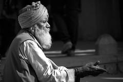 begging (heinz homatsch) Tags: india beggar pushkar rajasthan