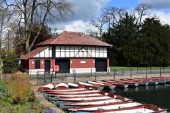 Boathouse (John A King) Tags: park valentines boathouse ilford