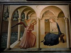 Annunciation (Annunciazione), San Marco, Florence (Dimitris Graffin) Tags: florence firenze φλωρεντία museum fresco affresco convent convento museo sanmarco フィレンツェ イタリア
