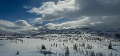 Weather 2 (kaifr) Tags: blue winter sky snow clouds outdoors flying wind aerial