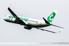 LIL - Boeing 737-8K2 (F-GZHC) Transavia France (Aro'Passion) Tags: france canon photography boeing transavia 737 737800 dcollage natw 60d fgzhc aropassion