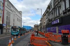 Lime Street, Liverpool (Liverpool Suburbia) Tags: city bus liverpool save limestreet arriva futurist 2016 3161 futuristcinema mx14hrp arriva3161