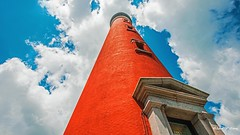 Towering into the Sky (Thank you, my friends, Adam!) Tags: light house flower macro art beauty closeup lens photography nikon gallery photographer angle florida fine central excellent dslr curve daytona      wide
