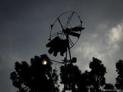 (Roberto Suarez DLG) Tags: windmill contraluz time molino tiempo aspas