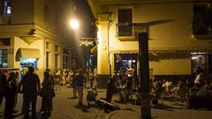 Kuba Havanna Cafe de Paris Nachtaufnahme (Ruggero Rdiger) Tags: cuba havanna kuba lahabana 2016 besichtigung citystadt rdigerherbst