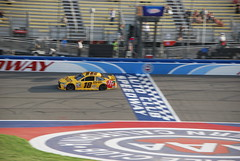 Kyle Busch (cjacobs53) Tags: auto california car club race speed fast nascar jacobs fontana rancho speedway cucamonga jacobsusa
