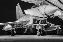 Eurofighter Typhoon (Ian Garfield - thanks for over 1 Million views!!!!) Tags: night speed canon dark ian photography long exposure shoot shadows force outdoor aircraft military air royal nightshoot eurofighter shutter vehicle tornado garfield bi bf typhoon raf coningsby zj810 rafroyal 5d3