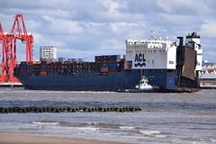 Atlantic Conveyor (Gareth Garbutt) Tags: acl rivermersey atlanticstar atlanticcontainerline atlanticconveyor