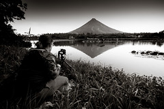 Reflections (aurivera.photography) Tags: blue landscape fuji fujifilm mayon bicol fujinon albay xpro1 fujixpro1 fujifilmxpro1 xpphxgrid