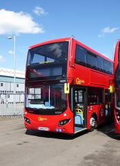 GAL MHV9 - BU16OYS - NSF - BV BELVEDERE BUS GARAGE - THUR 28TH APR 2016 (Bexleybus) Tags: new bus london buses ahead volvo garage go egyptian belvedere bv etb mcv goahead evoseti mhv9 bu16oys