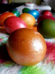 coloured eggs for easter (seanfderry-studenna) Tags: food color colour easter interesting graphic bright egg dramatic vivid indoor animated colourful striking orthodox picturesque lively arresting