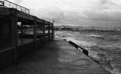 8237.Sea (Greg.photographie) Tags: sea blackandwhite bw film beach analog canon eos noiretblanc voigtlander 400 f2 40mm eos1n hyeres foma ultron hyres r09