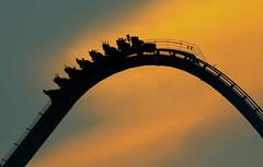 Gathering (Steve Lindenman) Tags: rollercoaster carowinds daleearnhardt intimidator lindenman cpmg0416sa