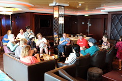 Norwegian Gem: Quilters' Social (Fred_T) Tags: cruise ship social quilting gathering gem ncl norwegiancruiseline