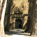 Entrada a la iglesia * Monasterio de Yuste ( Caceres - Extremadura )
