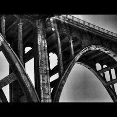 Colorado Street Bridge, Pasadena California... #coloradostreetbridge #bridge #bridges #famousbridges #coloradostreet #pasadena #california #losangeles #structure #concreteporn #concrete #lensflare #bw #blackandwhite #blackandwhitephotography #blackwhite # (karolalmeda) Tags: california street bridge blackandwhite bw architecture concrete blackwhite losangeles colorado december bridges structure lensflare 29 pasadena blackandwhitephotography 2015 coloradostreetbridge coloradostreet famousbridges concreteporn 0645pm instagram ifttt