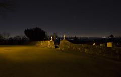 365-50 (• estatik •) Tags: lighting county new 3 cemetery st skyline night ross long exposure quiet darkness cross jan january nj entrance days jersey 365 morris 50 greene stillness boonton 1316 project365 36550 3116