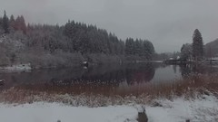 Loch Ard Aerial (jamie reilly) Tags: trees lake snow water river scotland aerial loch aberfoyle drone lochard dji dronelife dronepics phanton3pro