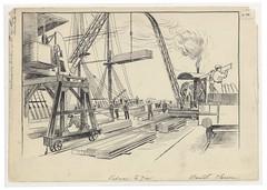 Loxton H746 (Bristol Libraries) Tags: uk bristol dock timber portishead wharf