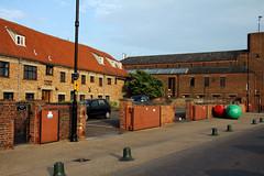 Northern England 2012 #085 Kings Lynn 300512 Thoresby College (Steveox55) Tags: college gate norfolk kingslynn
