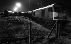 Margam 33776bwcr (kgvuk) Tags: trains locomotive railways margam diesellocomotive clitheroecastle class60 60024 dbschenker margamyard southwalesmainlne