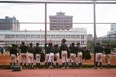 Baseball Boy (YL.H) Tags: 底片 桃園 棒球 film fujifilm canon 500n xtra baseball sport taiwan analogy