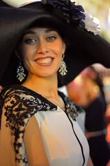 8068 (G de Tena) Tags: woman girl beautiful smile mujer eyes nikon modelo ojos sombrero d800