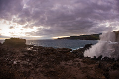2016.01.04-Maui-049 (c_tom_dobbins) Tags: sunrise hawaii surf waves maui blowhole nakalele