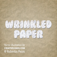 Wrinkled Paper Text Style PSD (creativeloads.com) Tags: texture vintage paper ancient background grunge text rustic style parchment dirty retro stained dirt page letter torn aged rough damaged psd scratched textured crumpled wrinkled