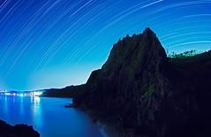 20150912 沖繩 真栄田岬 海面崖壁 (Daniel Chang) Tags: 獵戶座 沖繩 青の洞窟 真栄田岬 星流跡 崖壁 東升