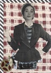 Automaton (kurberry) Tags: collage cutpaste automaton cutandpaste vintageephemera