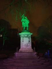 Albert Ball's Statue, Nottingham Castle (Brownie Bear) Tags: nottingham uk england castle rock gardens ball britain united albert great kingdom gb nottm