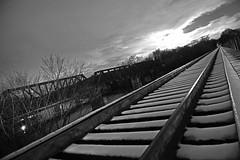 DSC_8649 (FirehawkNS) Tags: bridge snow river nc traintracks tracks northcarolina fullmoon moonrise snowday trainbridge moonshine movingclouds mountholly moonandclouds catawbariver gastoncounty winterinnc