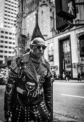 (Damien Sass) Tags: camera nyc newyorkcity people urban blackandwhite bw usa newyork man america lens us unitedstates manhattan 28mm streetphotography americans fifthavenue bigapple ricohgr 2016 beenthere