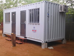 CVT.Container Building.Dadaab 2 (cvt.communications) Tags: building office container staff residence cvt