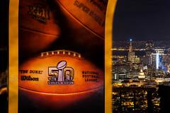 50 Super Years (Bryan Nabong) Tags: sanfrancisco california northerncalifornia football unitedstates nfl twinpeaks northamerica superbowl goldenanniversary sb50 superbowl50