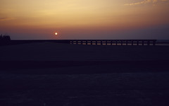 Sunset ( | YELLOW Mao) Tags: ocean sunset sea taiwan  taichung