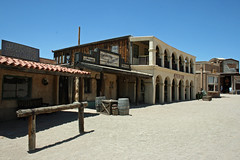 Main Street at the old Tucson film studio Arizona (David Russell UK) Tags: street old wild arizona usa west building film architecture buildings studio tucson famous main smith western saloon beever westerns
