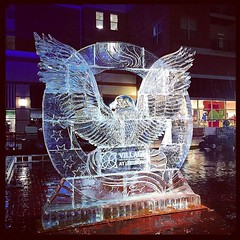 It was a long, warm and rainy day, but we did it! A 6,000 lb, 12' X 12' #patriotic #eagle #icesculpture at the 3rd annual #leesburg #winter #festival Thank you to the team at #Icelab @iceicemaybe for having us contribute to this #event also to Jess and An (fullspectrumice) Tags: winter sculpture 6 ice festival austin for this was us team warm long day texas with eagle you who patriotic it x we thank event rainy elements jess leesburg but annual 12 did having lb 000 3rd endured icesculpture angelito sculpting scupltures contribute icelab a iceicemaybe fullspectrumice thinkoutsidetheblocks brrriliant