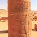 Horus, Column, Musswarat Temple, Sudan