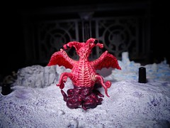 At the Mountains of Madness (ridureyu1) Tags: toy toys actionfigure cthulhu lovecraft hplovecraft pathfinder cthulhumythos elderthing toyphotography atthemountainsofmadness cosmichorror sonycybershotsonycybershotdscw690