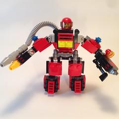 (Zammer's_Bricks) Tags: fire lego custom mecha hardsuit