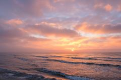 Winter Sunrise (Infomastern) Tags: winter sea cold sunrise vinter frost rime hav soluppgng rimfrost kallt skateholm
