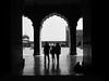 Jama Masjid interior silhouette (Heaven`s Gate (John)) Tags: people blackandwhite bw india white black art heritage history silhouette stone architecture arch delhi religion dramatic mosque jamamasjid johndalkin heavensgatejohn 25fave