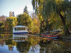 The Upper Pond embarkment, Sofiyivsky Park (Cad-Kyiv) Tags: park autumn fall reflections pond ukraine uman embarkment sofiyivka