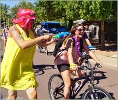 4604 (AJVaughn.com) Tags: park new arizona people beach beer colors bike bicycle sport alan brewing de james tour belgium bright cosplay outdoor fat parade bicycles vehicle athlete vaughn tempe 2014 custome ajvaughn