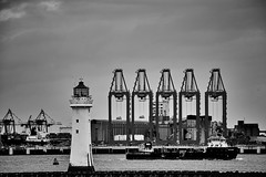 The Mersey at work (another_scotsman) Tags: lighthouse seascape docks river landscape mersey perchrock