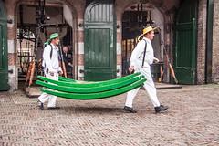Cheese carriers (Jan Herremans) Tags: cheese nederland alkmaar 2010 woophy janherremans