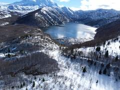 Castle Lake (U.S. Geological Survey) Tags: lake castle volcano washington science aerial volcanoes usgs cvo